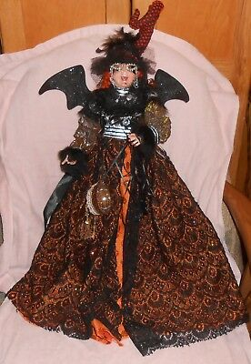 "Mark Roberts Collectible Witch Series Doll - Approximately 22"" Tall"