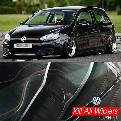 Kill All Wipers - Dewiper Blank Bung Delete Kit - VW Golf Mk6 / Gti / Tdi / R32