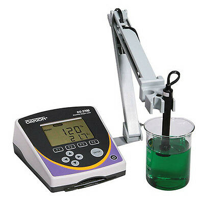 Oakton WD-35416-00 DO 2700 Dissolved Oxygen/BOD Meter w/Probe, Stand