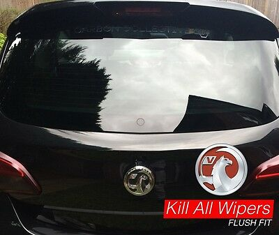 Vauxhall Corsa E - Rear / Back Dewiper Blank Bung Wiper Delete Kit - Flush