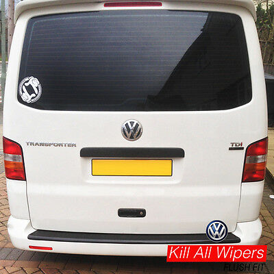 Rear / Back Dewiper Blank Bung Delete Kit - VW Transporter T5