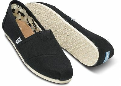 Toms Women's Classics Slip On Authentic Blk/Ash/Red/Navy/Olive/Pink