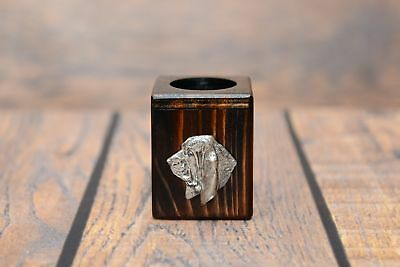engraved rolling pin for cookies MINI embossed BASSETHOUND