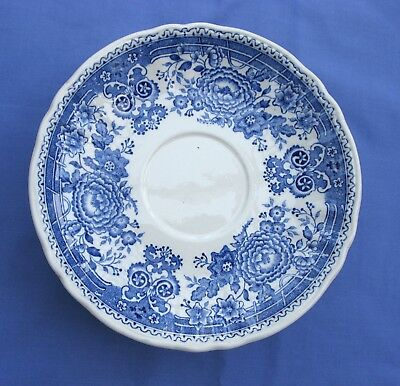 Villeroy & Boch Burgenland blue and white saucer x  one