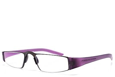 73747b63359 AUTHENTIC PORSCHE DESIGN Purple Sunglasses P8520 D125 Made In Italy ...