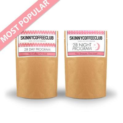 SKINNY COFFEE CLUB 28 DAY and NIGHT - ROYAL MAIL 24 // BETTER VALUE