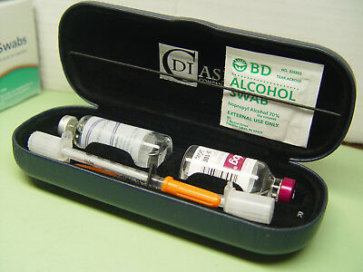 D.i. Case, Insulin Carrying Organizer Supply Case New And Improved Di Case
