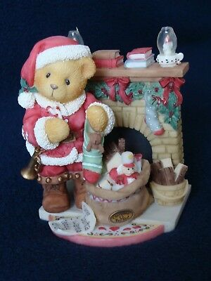 Cherished Teddies Sanford #534242 1999 Santa Series Retired NIB w Papers