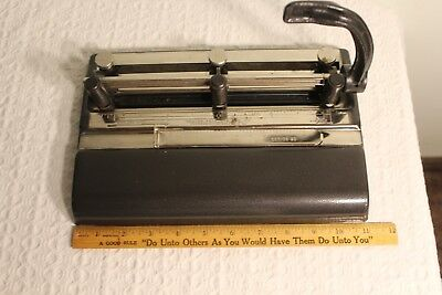 Vintage Master Products 3 Hole Punch Made in the USA