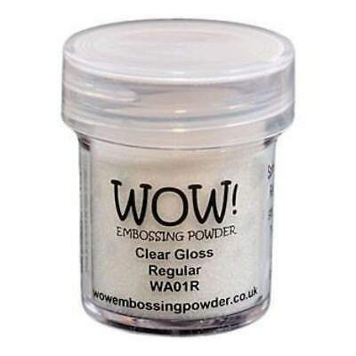 NEW Wow! Embossing Powder 15Ml Clear Gloss
