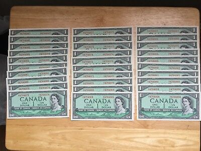 $1 - 1954 Lawson-Bouey Choice UNC (Buy 9 get 1 FREE) LOOK at all PICTURES