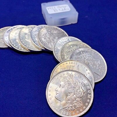 1921 Morgan Silver Dollar BU/BU+