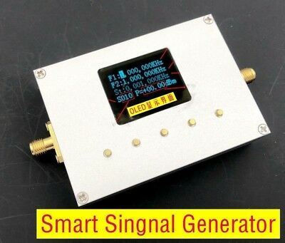 10MHz-15GHz Handheld Smart Singnal Generator Frequency RF source Sweep LMX2594