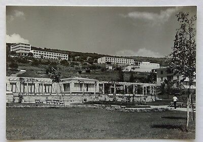 Bulgaria Varna Viewed from the Golden Sands 1960 Postcard (P320)