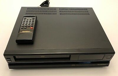 goldstar 4 head vcr ghv 4700m tested and works with remote rh picclick com Gold Star VCR Remote Quasar VCR