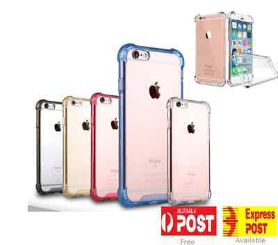 for iPhone X XS 8 7 Plus Case Cover silicon Shock proof Tough Hard Gel
