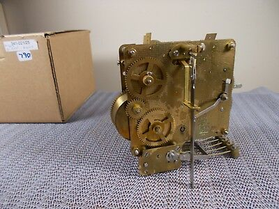 '87 FRANZ HERMLE 341-021/25cm WESTMINSTER CHIME 8 DAY MOVEMENT