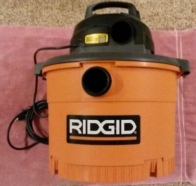 Ridgid Vacuum Cleaner 9 gal 4.25 HP Wet Dry Shop Vac WD0970