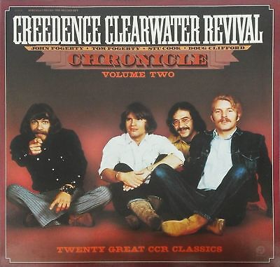 """CREEDENCE CLEARWATER REVIVAL """"Chronicles volume2"""" Best Off 2 LP 1986"""