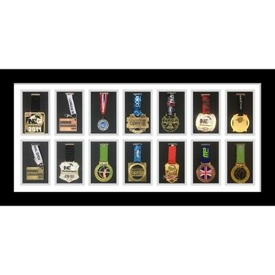 ALL SPORT MEDAL DISPLAY Customizable 36 Hanging Board 5x7 Photo ...