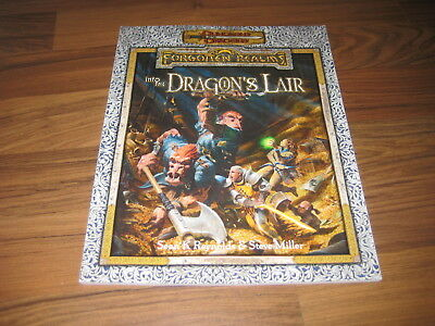 D&D 3.5 Forgotten Realms Into the Dragon's Lair Adventure TSR 11634  New Neu