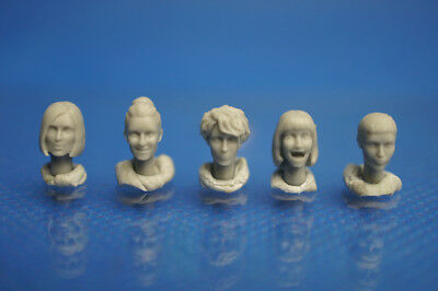 Resin Kit 330 1/35 Female Head Set