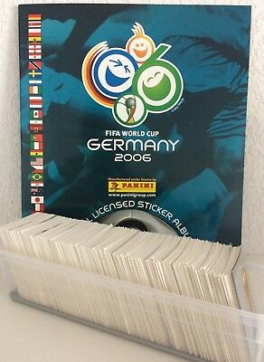 STICKER PANINI INTERNATIONAL VERSION WC GERMANY 2006 compléter/finish your album