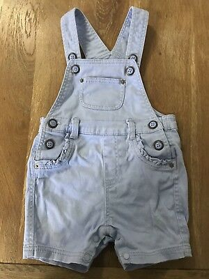 Pumpkin Patch Baby Girl Overalls Pale Violet Size 6-12 Months 0 🎀🎀