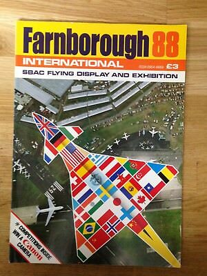 Farnborough International 1988 Flying Display and Exhibition. Official Programme