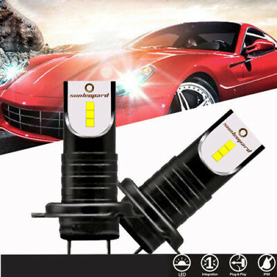 H7110W 30000Lm LED Car Headlight Conversion Globes Canbus Bulbs Beam 6500K Kit