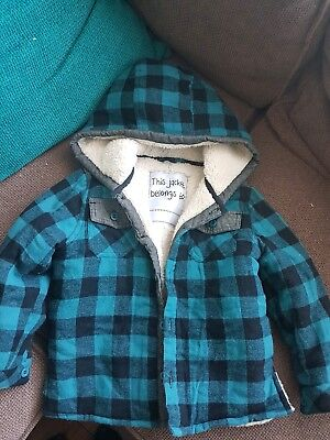 mini by very boys jacket 3-4 years