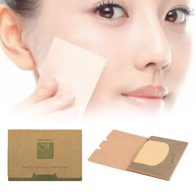 DCF0 100Sheets Oil absorbing sheets Blotting paper Absorbent Beautiful Oil contr