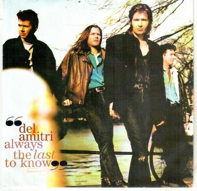 "<1907-0> 7"" Single: Del Amitri - Always The Last Know"