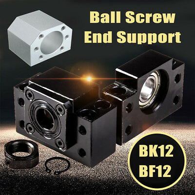 BF/BK12 Ball Screw End Support Ballnut Parts Set for SFU1605 CNC XYZ Parts