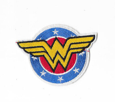 WONDER WOMAN Iron on / Sew on Patch Embroidered Badge Motif Comic Cosplay PT444