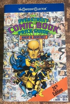 Overstreet Comic Book Price Guide 24th Edition