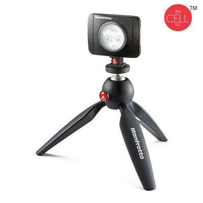Manfrotto Lumimuse 3 High Power LED Light 220 LUX Output & 3 Step Dimming