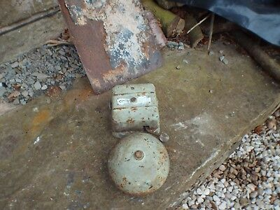 Gents Of Leicester Vintage Electric Industrial Cast Iron Fire Alarm Bell Sounder