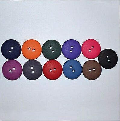 8 Matte Smartie Buttons, 11 designer colours, 26, 22, 20, 18, 16, 14, 13 & 11mm