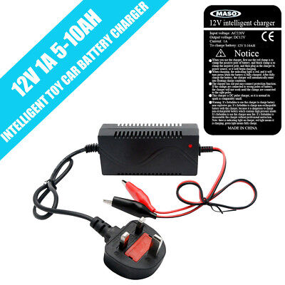Toy Car Battery Charger Combo 12v 5-10 ah Battery 12 Volt Mains Charger 1000mA