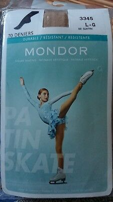 New Mondor 3345 Footed Ice Skating Tights - Adult sizes