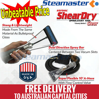 Steam Carpet Cleaning Machine - Rotovac Sheardry Clear Upholstery Hand Tool