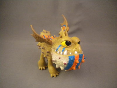 How to Train Your Dragon 2 Defenders of Berk MEATLUG w/ Racing Stripes Figure