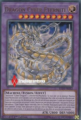 ♦Yu-Gi-Oh!♦ Cyber Dragon Eternité (Eternity) : LED3-FR012 -VF/Ultra Rare-