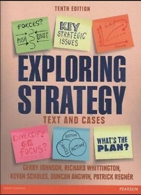 Exploring Strategy  Text & Cases 10th Edition : PDF Version Book