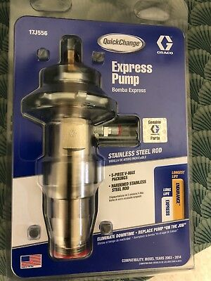 Graco Express Pump Lower For 390/395/490/495/595 17J556
