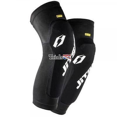 Jitsie Kids Dynamik Long Knee Guards - Youth/Junior/Child - Trials/Cycle/Offroad