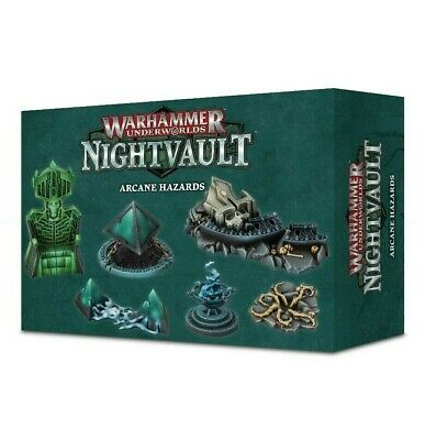 Warhammer Underworlds: Nightvault Arcane Hazards Games Workshop New 99120799003
