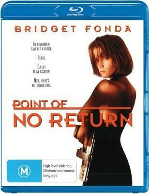 Point Of No Return - Bridget Fonda Blu-ray Region B New!