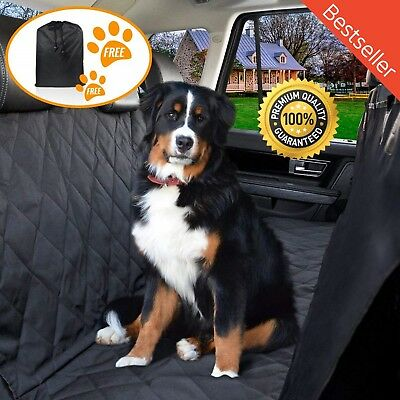 Waterproof Dog Car Seat Cover Hammock for Cat Pet SUV Van Back Rear Bench Pad